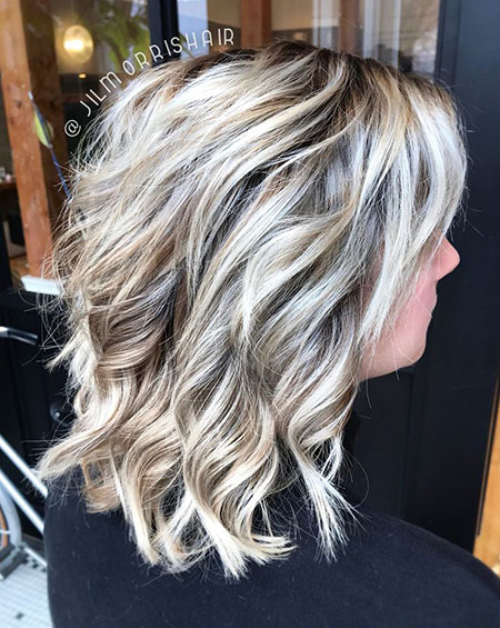 Blonde Balayage Highlights Bob Ash White Tips Long Icy Fashion Blond