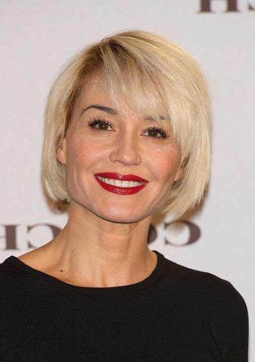 Bob Haircuts with Bangs-11