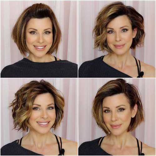 Bob Hairstyles for Older Ladies-9