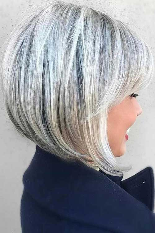 Best Angled Bob Hairstyles for a New Look | Bob Hairstyles 2018 - Short Hairstyles for Women