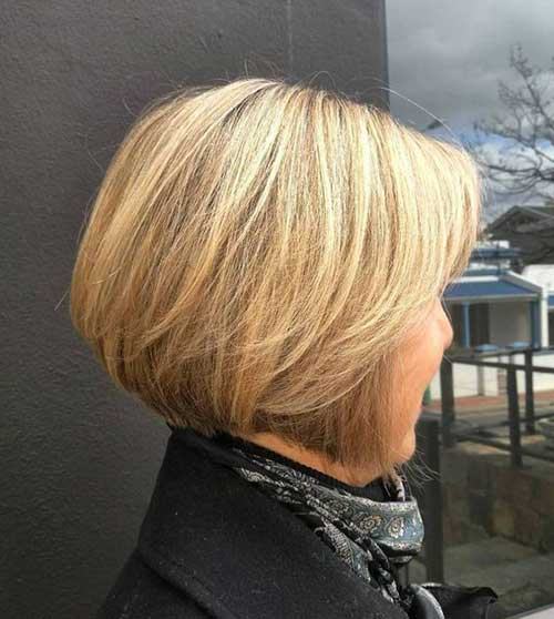 Older Women Bob Haircuts