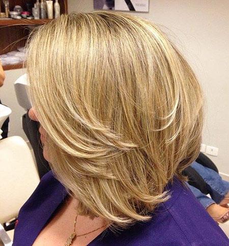Bob Blonde Layered Haircuts