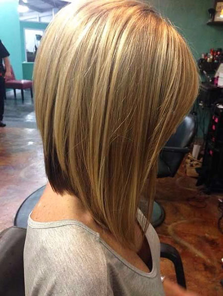20 Shoulder Length Angled Bob Hairstyles Bob Hairstyles 2018