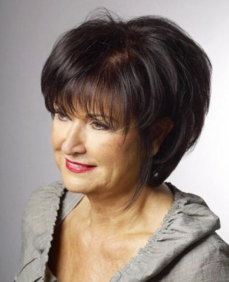 Bob Hairtyle for Older Women, Hair Short Older Women