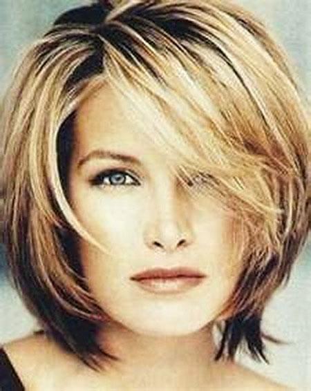 Layered Hair, Hair Medium Layered Length