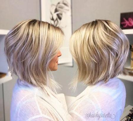 Bob Blonde Haircuts Fine