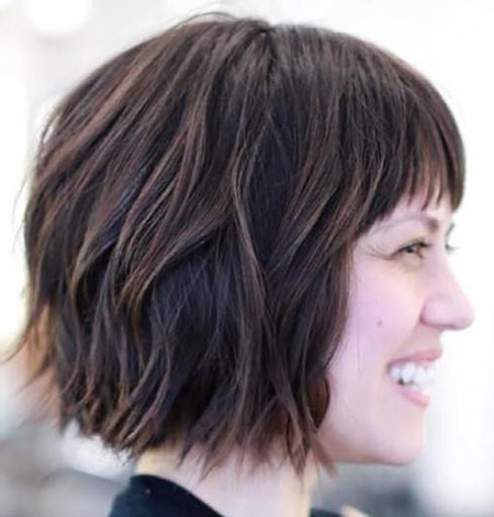 23 short layered bob hairstyles for thick hair  bob