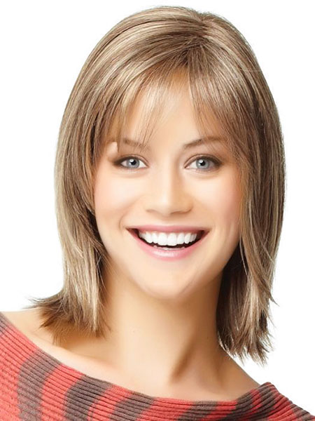 Hair Length Round Medium