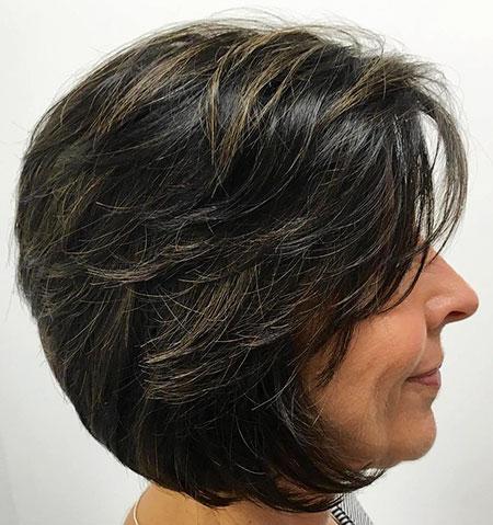 Bob Hair Pixie Layered