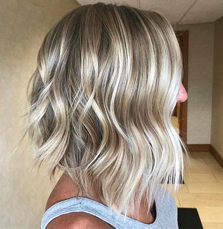 Blonde Bob Hair Fine