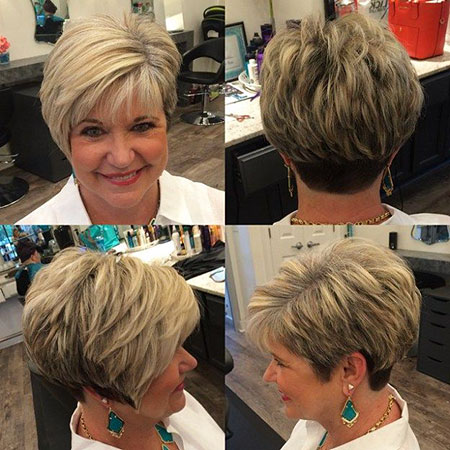 Pixie Bronde Layered Older