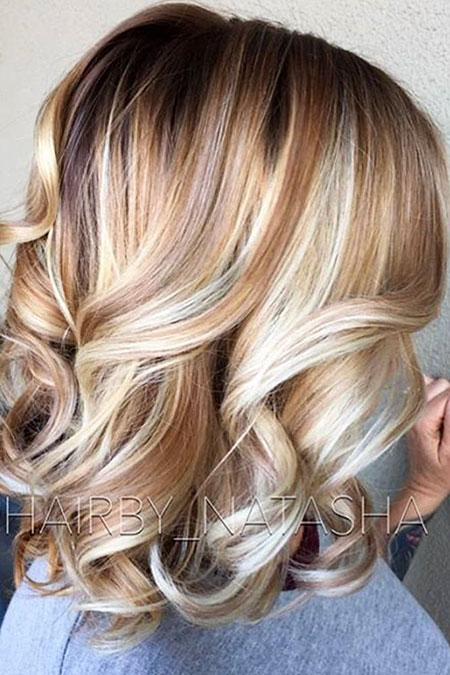 Hair Color Blonde Medium