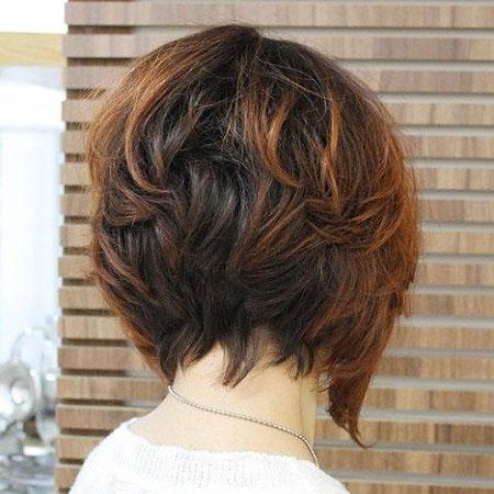 Bob Thick Choppy Hair