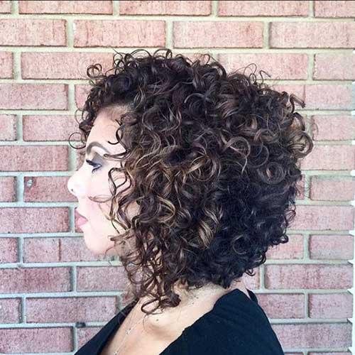Curly Bob Haircuts