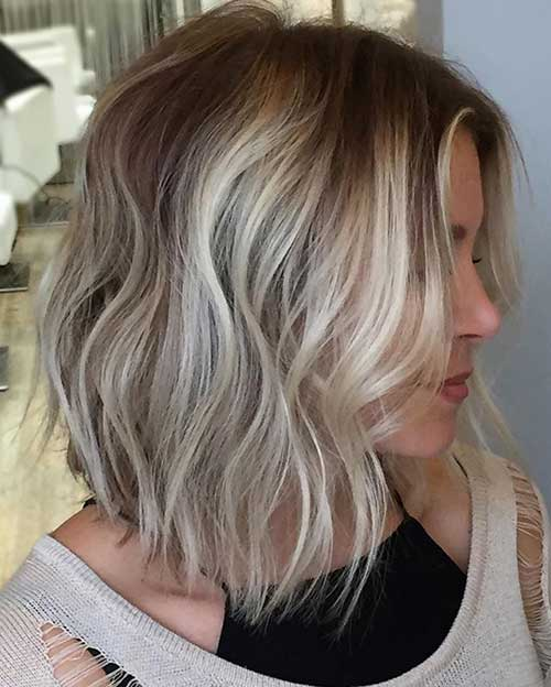 Lob Haircuts for Women
