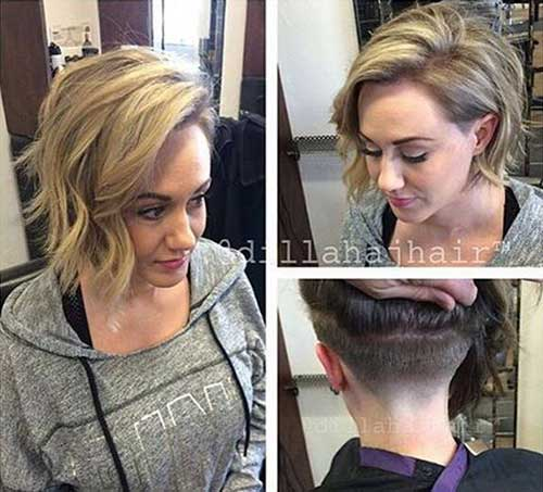 Stacked Bob Haircuts