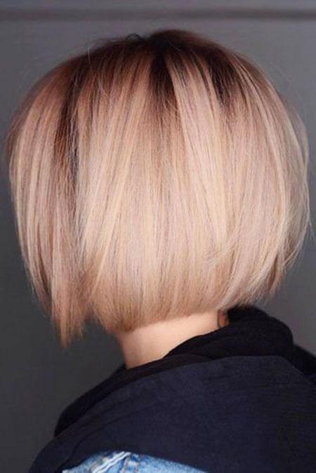 Blonde Haircuts Bob Up