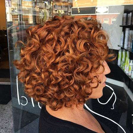Curly Short Curl Perm
