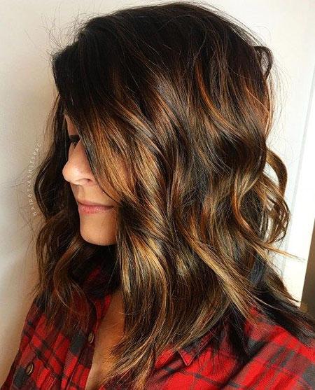 Hair Layers Length Wavy