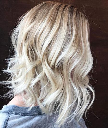 Hair Blonde Lob Hairtyles