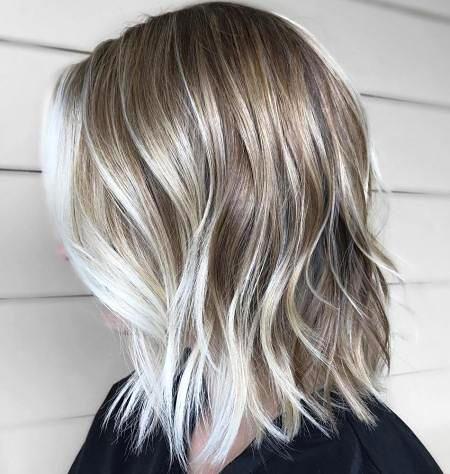 Blonde Balayage Ash Hair