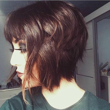 Layered Hair, Bob Hair Choppy Wispy