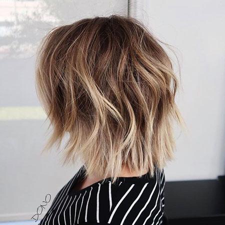 Bob Choppy Blonde Hairtyles