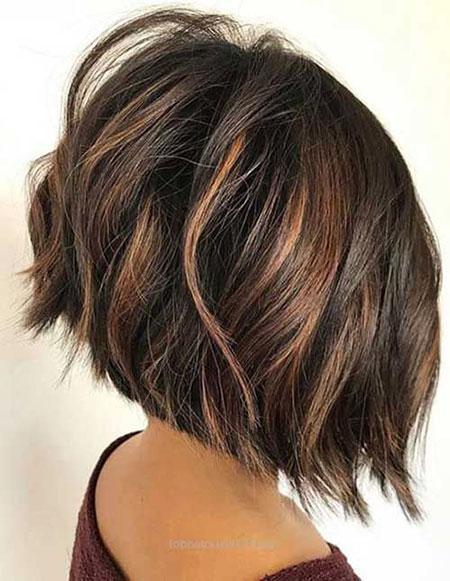 Bob Hair Balayage Brown