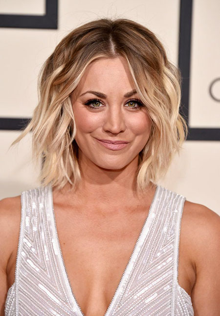 Kaley Cuoco Short Hair, Bob Cuoco Hair Hairtyle