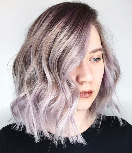 New Pastel Hair Colors, Hair Balayage Blonde Pastel