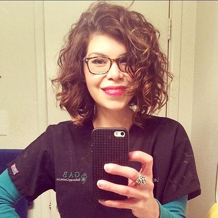 Short Hair, Curly Short Hair Dry