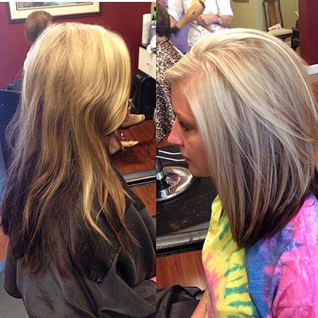 Blonde with Brown Underneath, Blonde Underneath Hair Long