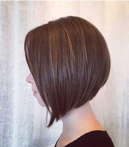 Brown Hair, Bob Length Shoulder Layered