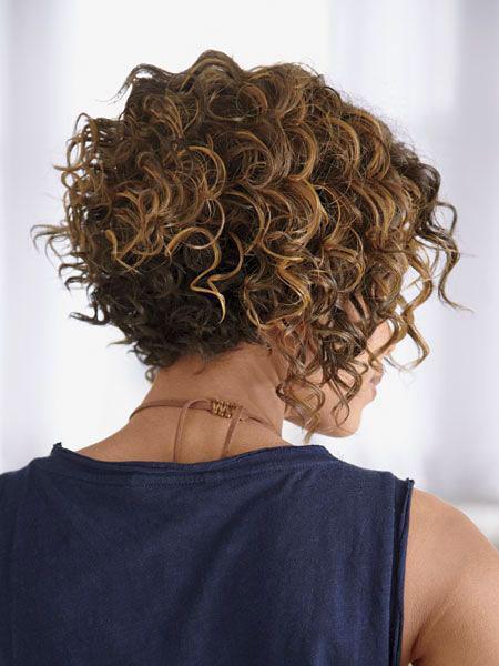 Curly Short Bob Hair