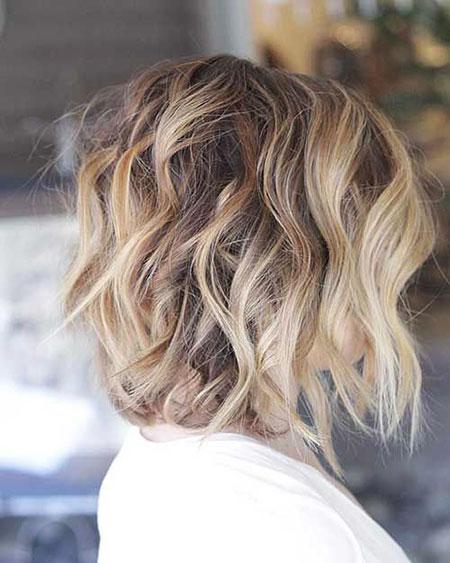 Balayage Hair Thick Lob