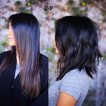Medium Short Hair Women
