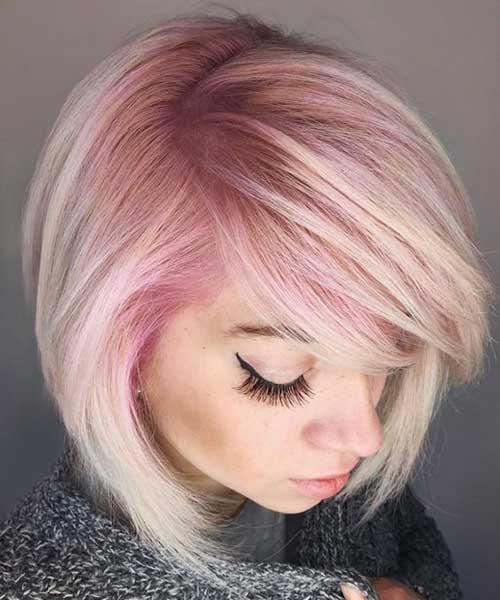 Pink Bob Haircuts-7