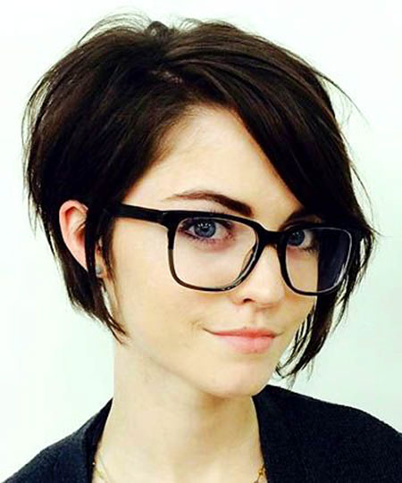 Short Stacked Bob Haircut, Pixie Short Long Hair