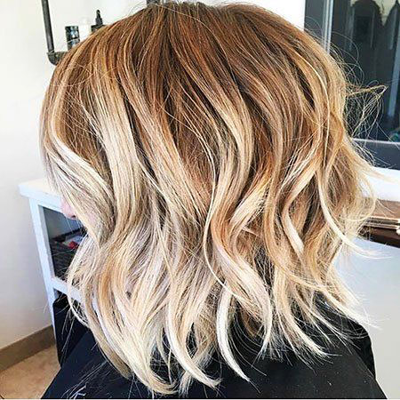 Blonde Wavy Color Medium