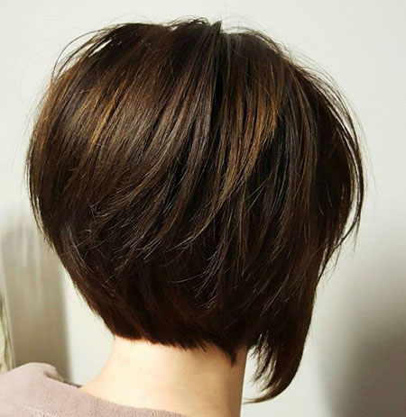 Bob Brown Short Hair