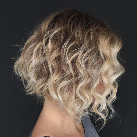 Blonde Hair Bob Ombre