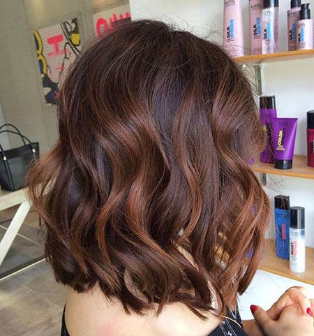 Brown Hair Balayage Caramel