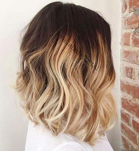 Hair Bob Blonde Ombre