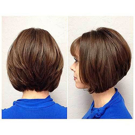 Bob Hair Layered Bobs