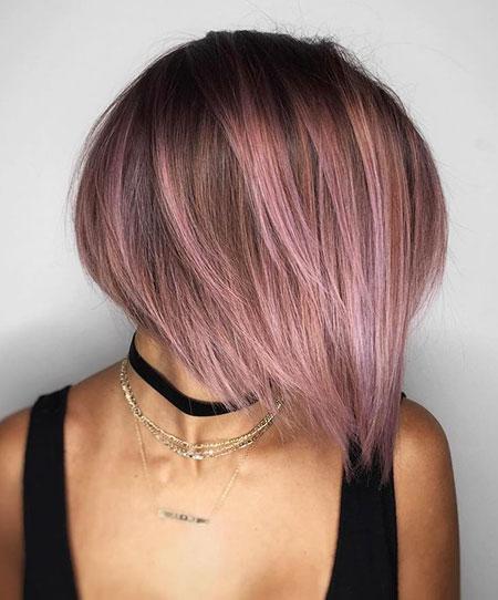 Bob Hair Purple Fine