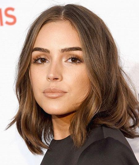 Hair Brown Golden Makeup