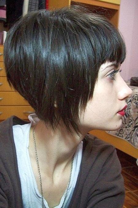 Bob Cut Pixie Bangs, Bob Short Choppy Hair