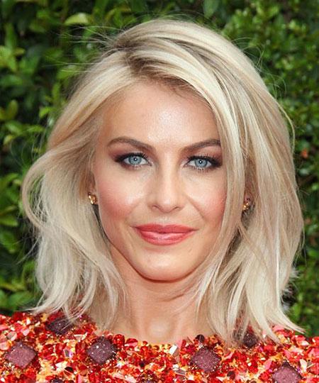 Julianne Hough, Hair Blonde Medium Length