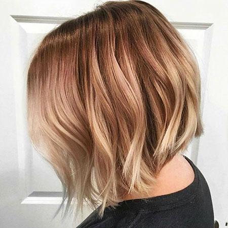 Blonde Balayage Hair Bob
