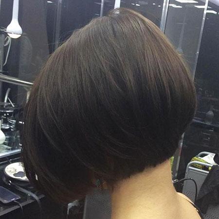 Bob Hair Short Brunette